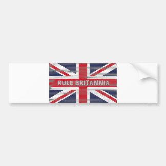 Bandeira britânica de Union Jack Adesivo