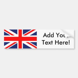 Bandeira britânica de Union Jack Adesivo Para Carro