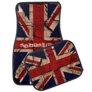 Bandeira BRITÂNICA de Union Jack Ingleses do vinta Tapete Para Carro