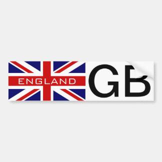 Bandeira britânica do jaque de união do adesivo para carro