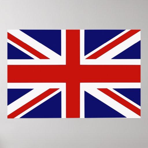 Bandeira britânica posteres