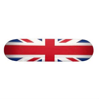 Bandeira britânica shape de skate 20cm