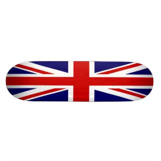 Bandeira britânica Union Jack Shape De Skate 18,1cm