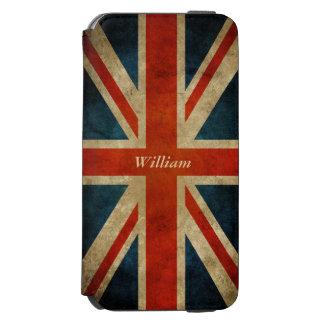 Bandeira BRITÂNICA velha do vintage - Grâ Bretanha