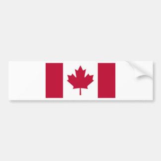 Bandeira canadense adesivo para carro