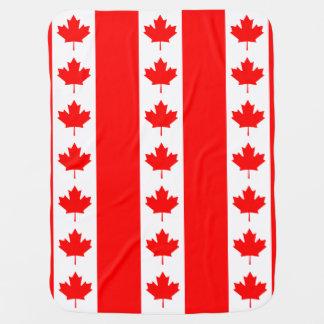 Bandeira canadense da folha de bordo de Canadá Manta Para Bebe