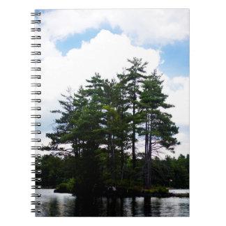 Bandeira canadense, ilha, caderno do país da casa
