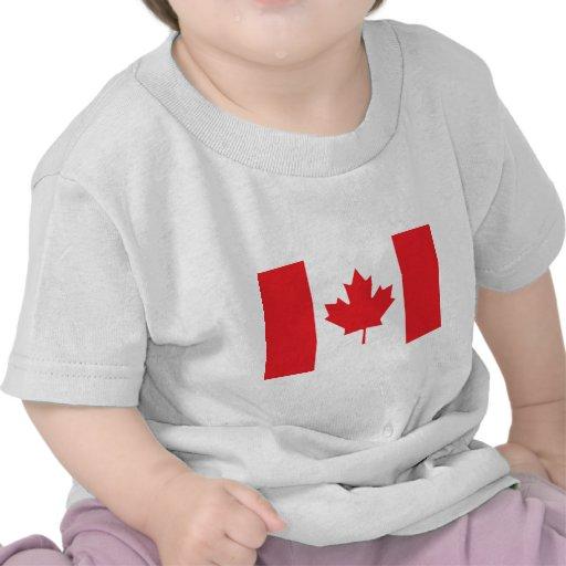 Bandeira canadense tshirts