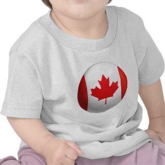 Bandeira canadense tshirt