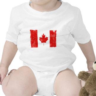 Bandeira canadense t-shirts
