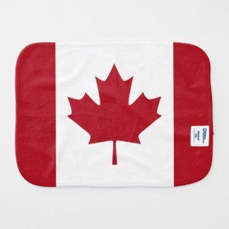 Bandeira canadense fraldinhas de boca