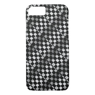 Bandeira Checkered Capa iPhone 7