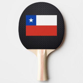 Bandeira chilena raquete para ping pong