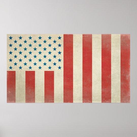 Bandeira civil americana do impressão da paz