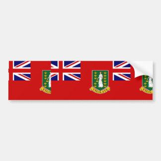 Bandeira civil de British Virgin Islands parentes Adesivos
