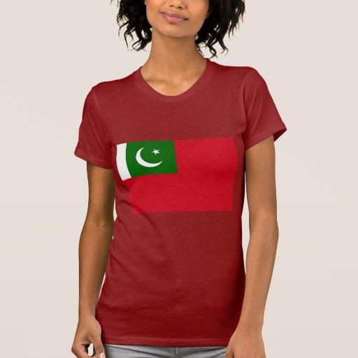 Bandeira civil Paquistão, Paquistão Camiseta
