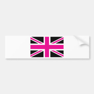 Bandeira clássica de Union Jack Ingleses do preto  Adesivo Para Carro