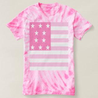Bandeira cor-de-rosa dos EUA Camiseta