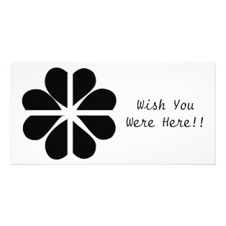 Bandeira Cornish do trevo afortunado de quatro Cartão Com Foto