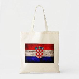 Bandeira croata bolsas de lona