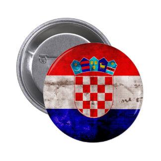 Bandeira croata boton