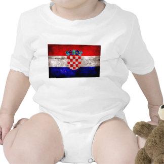 Bandeira croata t-shirts