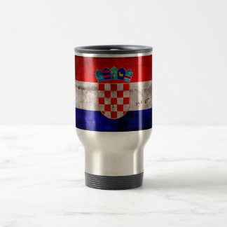 Bandeira croata caneca