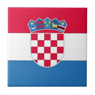 Bandeira croata ou bandeira de Croatia