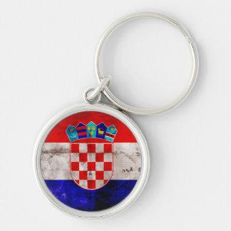 Bandeira croata chaveiro