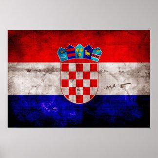 Bandeira croata posteres