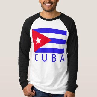 Bandeira cubana tshirts