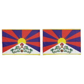 Bandeira da bandeira do leão de Tibet ou de neve