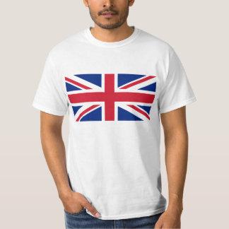 Bandeira da camisa de Grâ Bretanha T