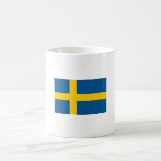 Bandeira da caneca da suecia