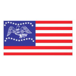 Bandeira da cidade de Fremont Cartão Com Foto