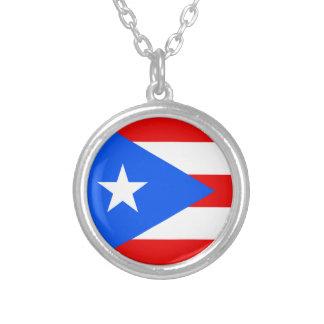 Bandeira da colar de Puerto Rico
