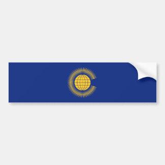 Bandeira da comunidade. Ingleses, Reino Unido Adesivo Para Carro