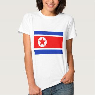 Bandeira da Coreia do Norte Camisetas