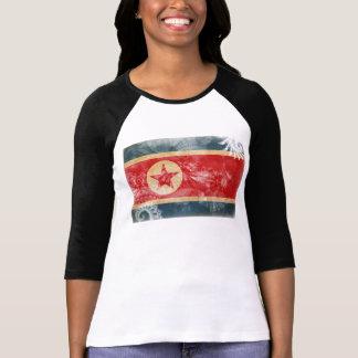 Bandeira da Coreia do Norte T-shirt