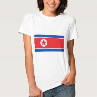 Bandeira da Coreia do Norte Tshirts