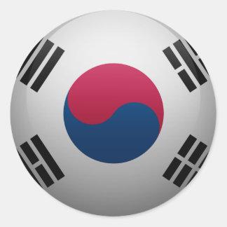Bandeira da Coreia do Sul Adesivo