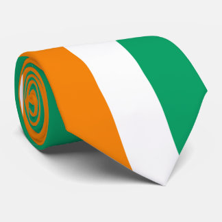 Bandeira da Costa do Marfim Gravata