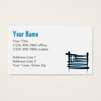 Bandeira da escova da piscina cartão de visitas