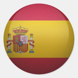 bandeira da Espanha Adesivo