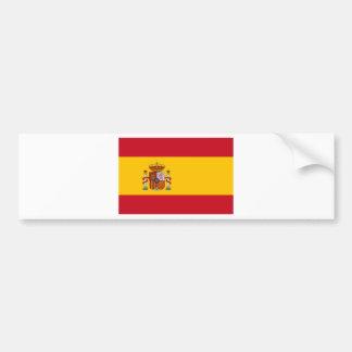 Bandeira da espanha adesivo para carro