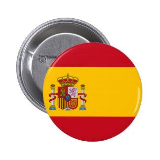 Bandeira da espanha pins