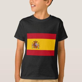 Bandeira da espanha camiseta