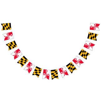 Bandeira da estamenha da bandeira de Maryland -