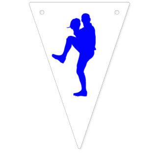 Bandeira da estamenha do partido do basebol