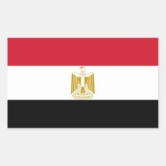 Bandeira da etiqueta do decalque de Egipto Adesivo Retangular